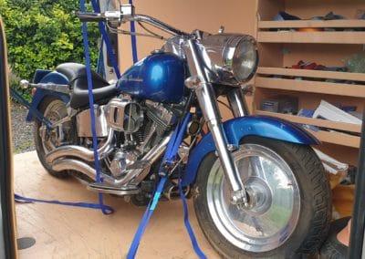 Transport moto Harley Davidson 22