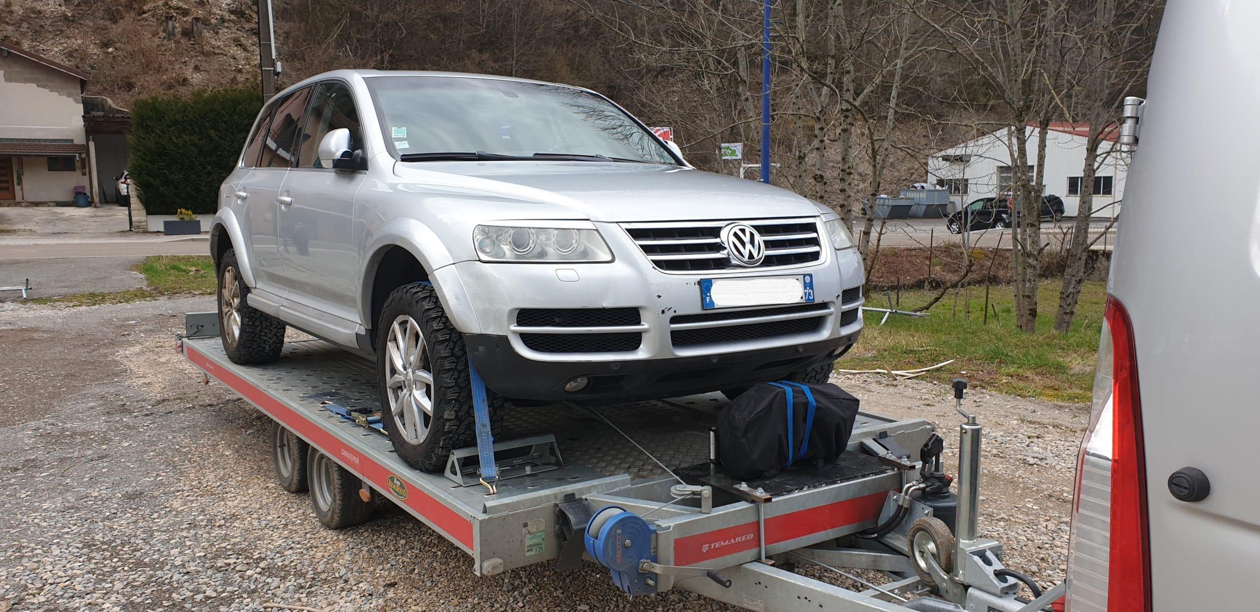 Tranport VW Touareg