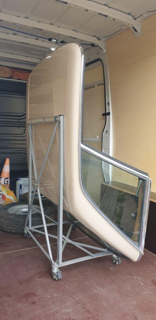 Transport Hard top Mercedes Pagode de Thionville (Moselle) à Landorthe (Haute-Garonne)